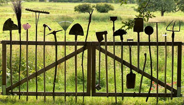 Les outils du jardin des potentiels